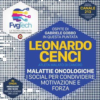 30 - Leo Cenci, i social per dare forza ai malati oncologici