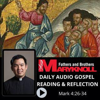 Mark 4:26-34, Daily Gospel Reading and Reflection
