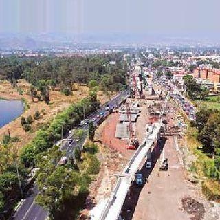 El controvertido Puente de Cuemanco al 83%, informa la SOBSE.