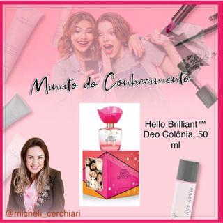 Hello Brilliant™ Deo Colônia, 50 ml