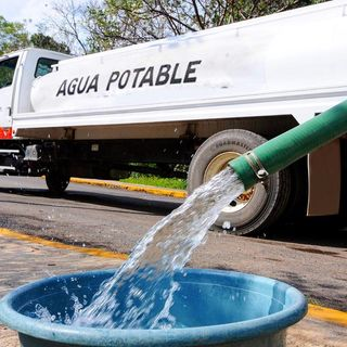 Suspenden suministro de agua