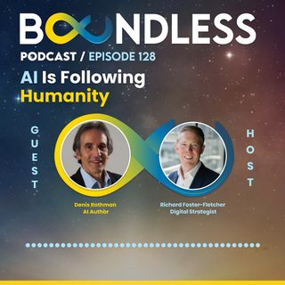 EP128: Denis Rothman, AI Author: AI is following humanity