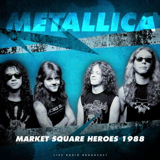 ESPECIAL METALLICA MARKET SQUARE HEROES 1988 #Metallica #stayhome #MascaraSalva #ps5 #mulan #twd #theboys #lovecraft #thesimpsons #feartwd
