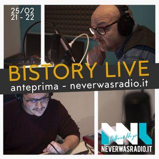 Bistory Live (anteprima seconda stagione) + Pietro Torrigiani