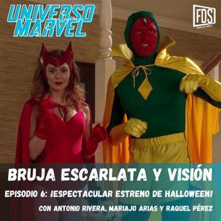 Bruja Escarlata y Visión - Episodio 6 - ¡Espectacular estreno de Halloween!