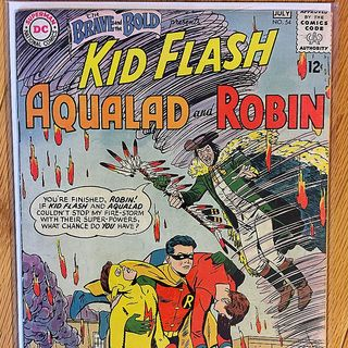Episode 005 - Brave and Bold 54, July 1964, DC Comics