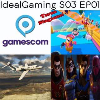 IdealGaming S03 EP01 - Gamescom 2020, Gotham Knights, Fall Guys: Ultimate Knockout e tanto altro