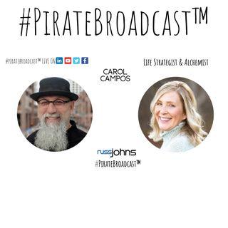 Catch Carol Campos on the #PirateBroadcast™