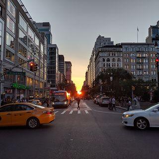 Manhattanhenge: Cuando el sol y Nueva York se alinean