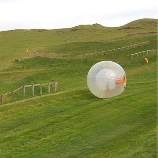 "The world of ""Zorbing"""