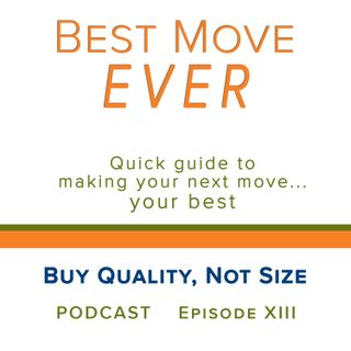 Ep 13 Buy Quality, Not Size