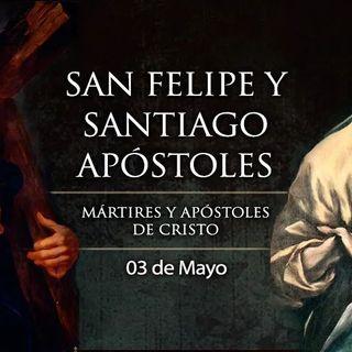 Santos Felipe y Santiago, apóstoles. La Santa Cruz