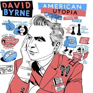We're All Going To David Byrne's House