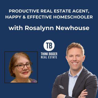 Productive Real Estate Agent, Happy & Effective Homeschooler