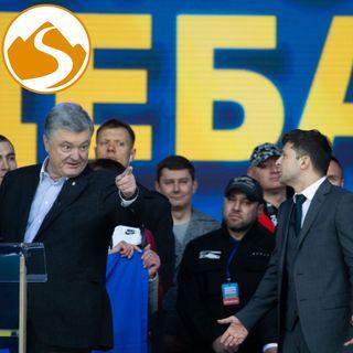 L'Ucraina elegge Presidente un comico e le Gang legali in Ecuador