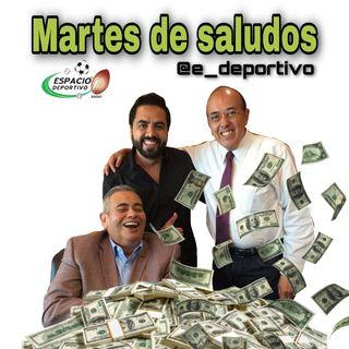 Incontrolables, locos , divertidos así son el Rudo, Pepe y Alex en Espacio Deportivo de la Tarde 30 de Junio 2020