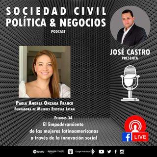 34. Mujeres Exitosas Latam Ft. Paola Andrea Onzaga Franco