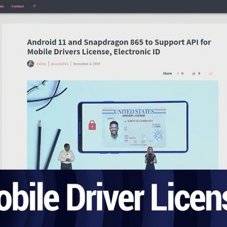 Mobile Driver License Support Coming to Android | TWiT Bits