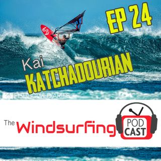 """#24 - Kai Katchadourian: """"I just love to sail scared"""""""