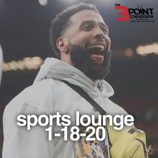The 3 Point Conversion Sports Lounge- NFL Championship Sunday, Santia Deck, (NBA) Hawks & Ja Morant, MLB Punishment (Harsh?)