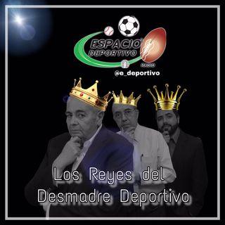 Los Reyes de la Bromedia deportiva, el Rudo, Pepe y Alex en Espacio Deportivo de la Tarde 30 de Noviembre 2018