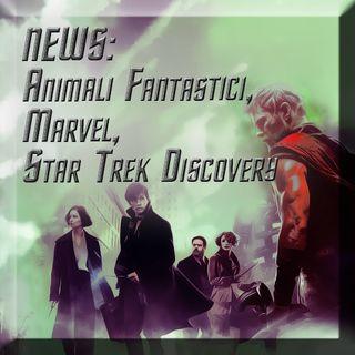News Animali Fantastici, Marvel, Star Trek Discovery