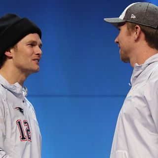 Nick Foles Not Waiting For Congratulatory Handshake From Tom Brady