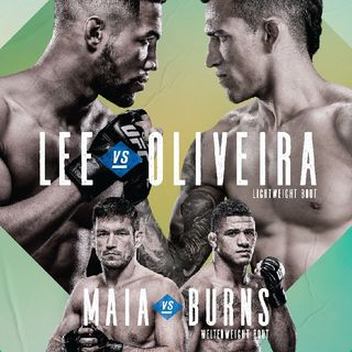 Preview Of The UFC On ESPN Card Headlined By Kevin Lee-Charles Oliviera In Brasilia,Brazil And A Really Good Undercard!!