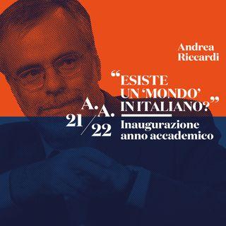Inaugurazione Anno Accademico 2021 / 2022 - Andrea Riccardi