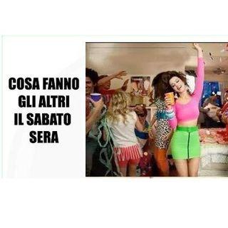 "#roma Sabato sera ""alternativo""?"