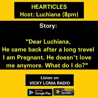 HEARTICLES with Luchiana: True Stories From The Hearticles