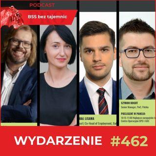 #462 BSS Forum - prelekcje ekspertów