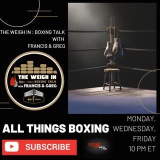 The Weigh In - Episode 9 (January 20, 2021)