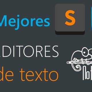 Editores de texto para programar