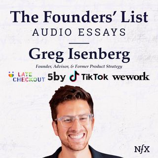 "The Founders' List: ""The Guide to Unbundling Reddit"" by Greg Isenberg (Late Checkout, Indicator Fund, TikTok Advisor, Previously WeWork/Isla"