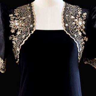 Floral Design Mestiza Bolero Gowns Dress form Barongs R us
