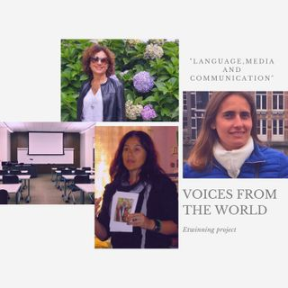"""Voices from around the world"" gives voice to teachers around the world."