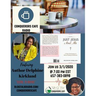 Conquerors Cafe Author Spotlight Featuring Author Delphine Kirkland