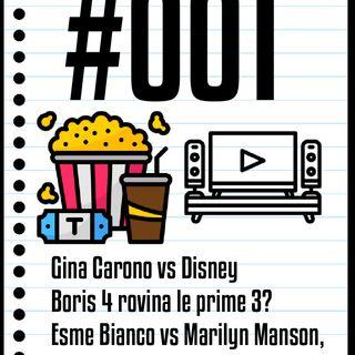 #001 Il Cinefilo Podcast: Gina Carano contro Disney e la recensione di Spece Sweepers