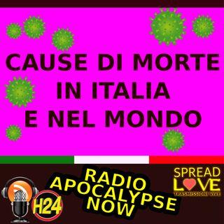 Le cause di morte in Italia. Coronavirus Covid19