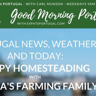 Sintra's Farming Family on Good Morning Portugal!