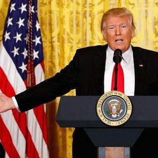 President Trump Confronts Media