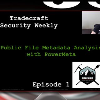 Public File Metadata Analysis - Tradecraft Security Weekly #1