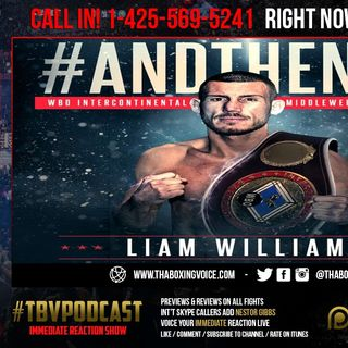 ☎️Immediate Reaction Liam Williams🛑Stops Fox Makes Statement🔥Demetrius Andrade NEXT😱