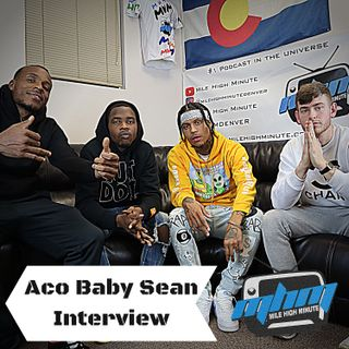 Aco Baby Sean Interview Repping Aurora Colorado, Had Enough, Shark Gang, New Tape Mile High Mi