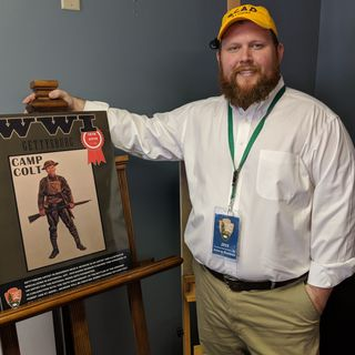 Civil War Artist Sean McGraw & Tanya Ortega - National Parks Arts Foundation on Big Blend Radio