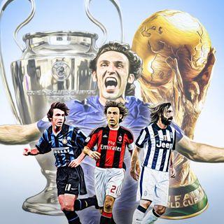 #18 Andrea Pirlo. il maestro del calcio