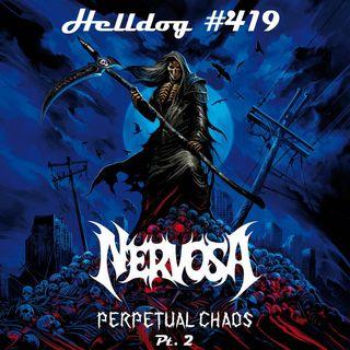 """Musicast do Helldog #419 no ar! Especial Nervosa, """"Perpetual Chaos"""" (pt. 2)"""