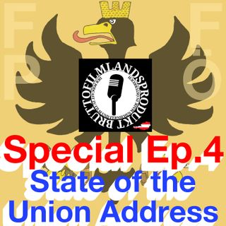 Special Episode 4 - State of the Union Address feat. Bruttofilmlandsprodukt - 2018