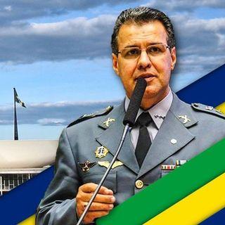 Secretário de Segurança Pública do RJ da entrevista corroborando com deputado capitão Augusto